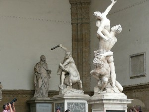 The Statues in The Piazza Della Signoria